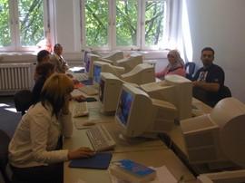 Workshop im PC-Kabinett