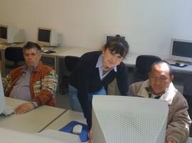 Dilfuza Yildiz mit Teilnehmern