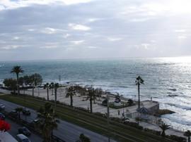Athen mit Blick auf den Saronischen Golf