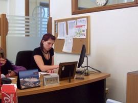 Im DPD-Büro