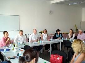 Herr Kettner, SenIAS, eröffnet den III. Workshop