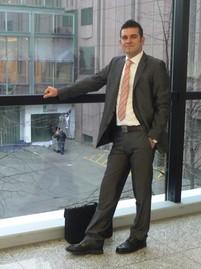 Marco Ahlers auf der Messe »Zukunft Personal« in Köln