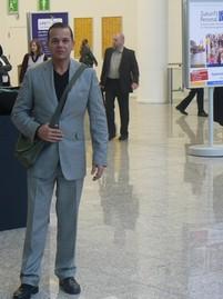 Christian Quandt auf der Messe »Zukunft Personal« in Köln