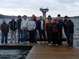 Unsere Gruppe mit den Betreuern Herrn Ramlow und Herrn Gehrke