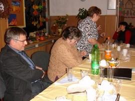Blick in die Tischrunde