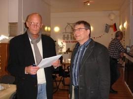 Unsere Projektbetreuer Michael Ramlow und Hartmut Buntebart