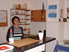 Jutta Krancher kümmert sich ums leibliche Wohl