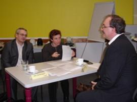 Präsentation von PerScreen in Lichtenberg