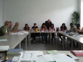 Teilnehmer des Integrationskurses