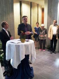 Eröffnung durch Herrn Adrian und Herrn Baumgart
