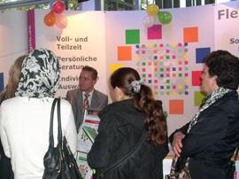 GBB auf der Messe Marktplatz Bildung im KOSMOS