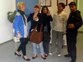 Unsere Teilnehmer auf dem Weg zu D & B