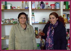 Frau Ali und Frau Bektas
