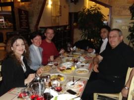 Abendessen auf Griechisch