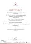 AZAV-Zertifikat
