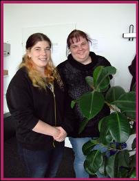 Frau Beißert und Frau Klein
