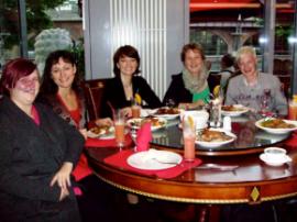 Team Berlin-Lichtenberg im Restaurant »Ming Dynastie«
