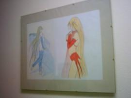 Teil der Ausstellung