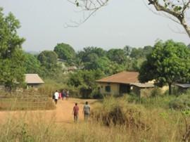 Dorf in Sierra Leone