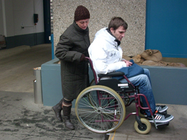 praktische Übungen zum Mobilitätstraining