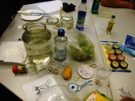 Ein Tisch voller Ideen