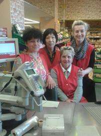 GBB Kassentraining im Supermarkt