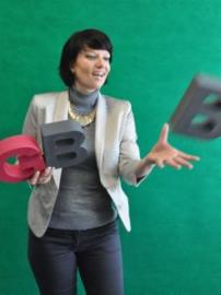 Frau Koster, Schulleiterin Berlin-Lichtenberg