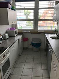 Küche der GBB in Berlin-Lichtenberg