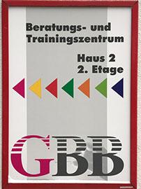 GBB im Mauritiuskirchcenter, Eingang 2, 2. Stock