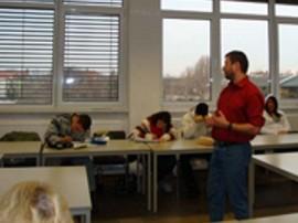 Peter Gutwasser vermittelt Lerntechniken