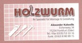 Holzwurm Um-/Ausbau & Gestaltung