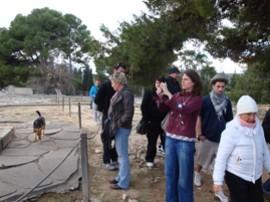 Erster Ausflug: Palast von Knossos