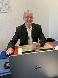 Herr Kindzorra, Schulleiter Berlin-Lichtenberg