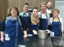 Frau Sommerfeldt und ihr Team aus Fürstenwalde