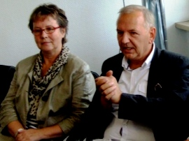Frau Bugge und Herr Benndorf