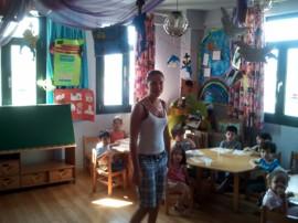 Miriam im Kindergarten
