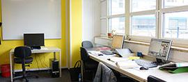 neuer Raum für die Erzieherinnen bei der GBB in Lichtenberg
