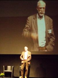 Prof. Dr. Gerald Hüther auf dem Bildungskongress in Zürich