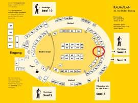 Saalplan der 20. Marktplatz Bildung