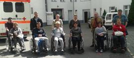 rehatechnische Mobilitätsunterweisung für GBB-Teilnehmer
