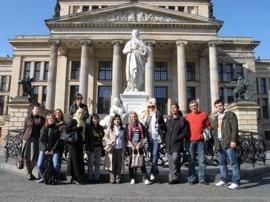 Unsere Gruppe auf Exkursion