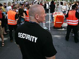 Sachkundeprüfung nach § 34a GewO, Sicherheitsgewerbe