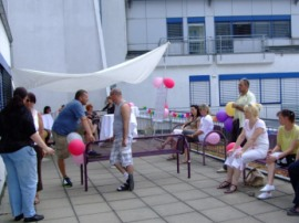 Trubel beim Sommerfest