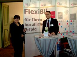 Frau Hoffmann und Herr Nierlein im Spandauer Rathaus