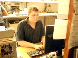 Steffen Exler im PC-Shop