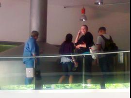 Rundgang auf der Galerie