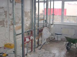 Umbau im Erdgeschoss