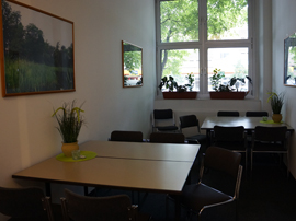 Pausenraum in Berlin-Neukölln