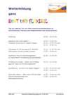 Weiterbildung bunt und FlexiBil bei der GBB