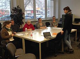Workshop Kinästhetik mit Frau Sorgenfrei